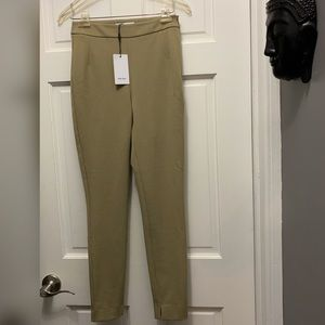 NWT Reiss Tyne Skinny Legging in Moss Green